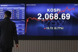 Info Bisnis - Bursa saham Seoul dibuka menguat  0,38 persen