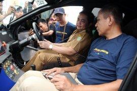 Mobil listrik blits jelajah Kalbar