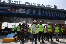 Menteri BUMN Mampir ke Proyek Tol Pasuruan-Probolinggo