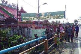 Kodim 0204/DS bersama warga dan Pemkab Serdang Bedagai gelar Jumat Bersih