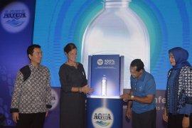 Danone-AQUA luncurkan botol plastik daur ulang