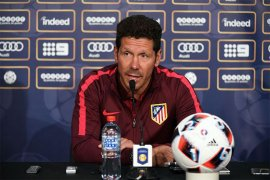 Diego Simeone antara optimistis dan realistis merebut gelar Liga Spanyol