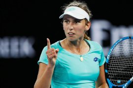 Petenis Elise Mertens awali Mallorca Open dengan kemenangan