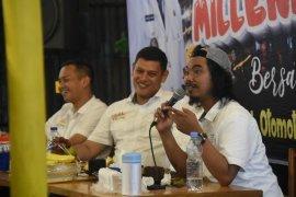 Wali Kota Kediri Ajak Kalangan Milenial Patuhi Rambu Lalu Lintas