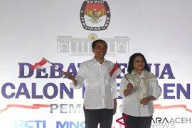 Elektabilitas Jokowi melesat tinggalkan prabowo pascadebat kedua