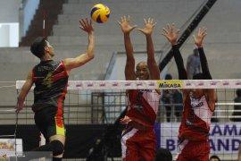Surabaya Samator Tantang Jakarta BNI di Final Proliga