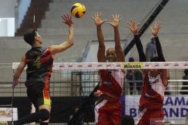 Dimas dan Yulis pemain senior di timnas bola voli SEA Games