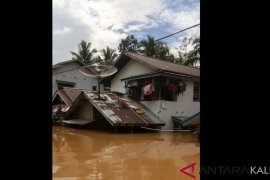PLN hentikan pasokan listrik ke daerah banjir di Landak