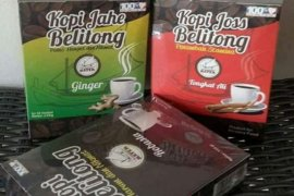 Produk olahan Kopi Belitung Timur diminati wisatawan
