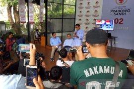 Sandiaga Uno puji penampilan Prabowo saat debat capres