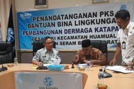 Jasa Raharja Maluku salurkan bantuan bina lingkungan