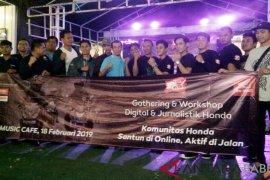 Honda Babel gelar gathering jurnalis peringati hari pers 2019