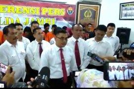 Polda Jambi tetapkan enam tersangka sindikat  peredaran 2.270 butir ekstasi