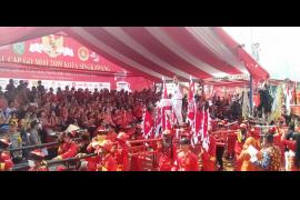 Pelepasan ribuan parade tatung di Singkawang