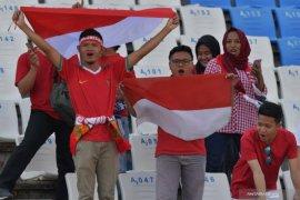 Pendukung Indonesia diimbau agar hormati lagu kebangsaan Malaysia
