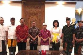 Inti Bali bertemu Gubernur Bali terkait Imlek