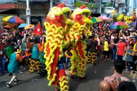 Karnaval Budaya dan Barongsai Cap Go Meh di Pontianak