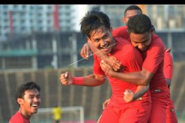 Timnas U-22 imbang lawan Malaysia