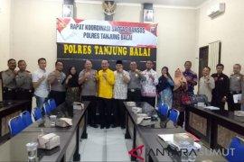 Pemkot-Polres Tanjungbalai bersinergi awasi penyaluran bantuan sosial