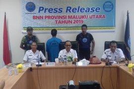 BNN Malut tangkap sopir pengedar ganja
