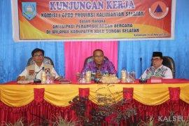 DPRD Kalsel monitor potensi kerawanan dan kesiapan daerah tanggulangi bencana