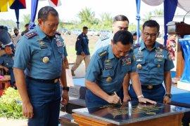 Peresmian Gedung Mako Lantamal XII Pontianak di Mempawah