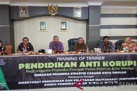 KPK edukasi anti korupsi kepada pramuka Sibolga