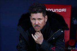 Diego Simeone minta maaf atas selebrasi kontroversial