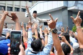 Prabowo bakal hadiri deklarasi dukungan purnawirawan TNI-Polri di Yogyakarta