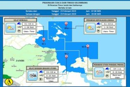 Potensi gelombang tinggi di perairan Indonesia