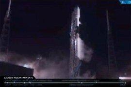 Satelit Nusantara Satu diluncurkan bersama misi pendaratan Bulan Israel