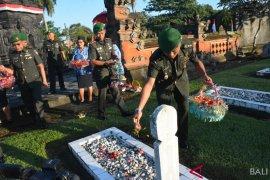 Korem 163/Wira Satya laksanakan ziarah di TMP Tabanan