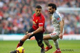 Manchester United imbang lawan Liverpool