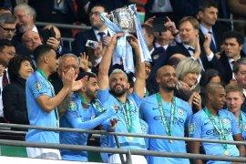 Manchester City raih gelar juara Piala Liga