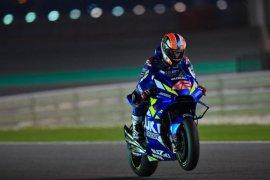 Alex Rins bawa Suzuki tercepat pada hari kedua tes pramusim di Qatar