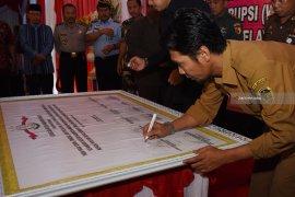 Penandatanganan Komitmen Zona Bebas Korupsi