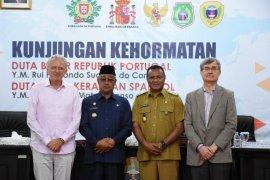 Dubes Portugal dan Spanyol tertarik pariwisata Maluku Utara