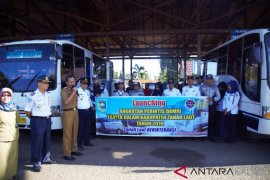 Damri serves transportation to two subdistrict in Tanah Laut