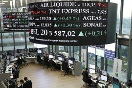 Saham Prancis naik tajam, indeks CAC 40 terangkat 2,55 persen
