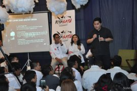 TKN Jokowi-Amin tawarkan kartu pra kerja kepada kaum milenial Medan