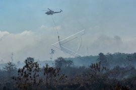 Helikopter Pemadaman Karhutla Riau