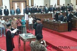 Samsir dilantik sebagai Ketua DPRD Kabupaten Bangka Barat
