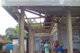 BPBD: 52 Bangunan Rusak Akibat Angin Kencang