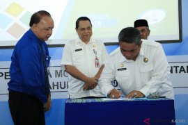 Wali Kota Teken Kontrak Kinerja PDAM Intan Banjar