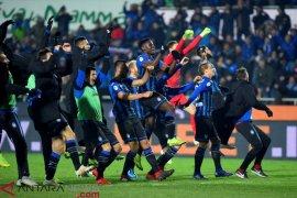 Atalanta cetak sejarah, pertama lolos Liga Champions setelah ratusan tahun