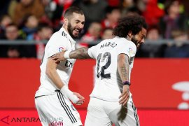 Real Madrid maju ke semifinal Copa del Rey, atasi Girona 3-1