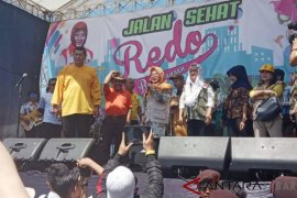 Tutut Soeharto minta dukungan politik kepada emak-emak di Garut