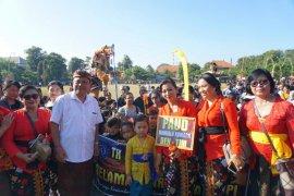"Anak-anak TK se-Denpasar ikuti ""Parade Ogoh-Ogoh"" jelang Nyepi (video)"