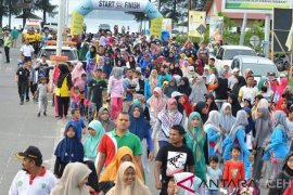 Ribuan masyarakat Aceh Jaya ikut fun bike dan fun walk