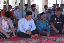 Kementerian PUPR dan KSP tinjau lokasi pembangunan Masjid Nyak Sandang